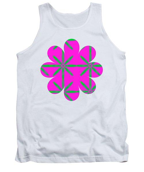 Groovy Flowers Tank Top