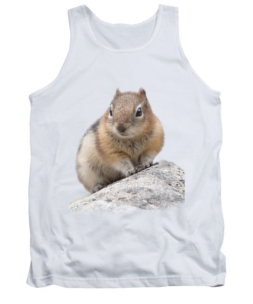 Ground Squirrel T-shirt Tank Top by Tony Mills