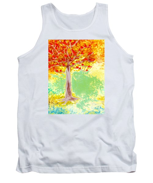 Growing Love Tank Top by Claudia Ellis