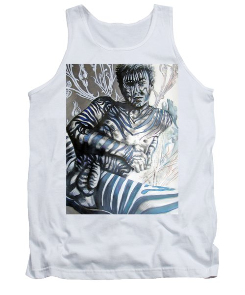 Growing Pains Zebra Boy  Tank Top