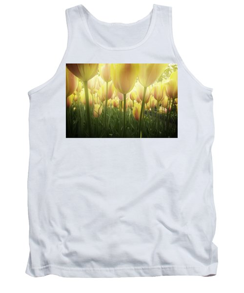Growing  Tulips  Tank Top by Anastasy Yarmolovich