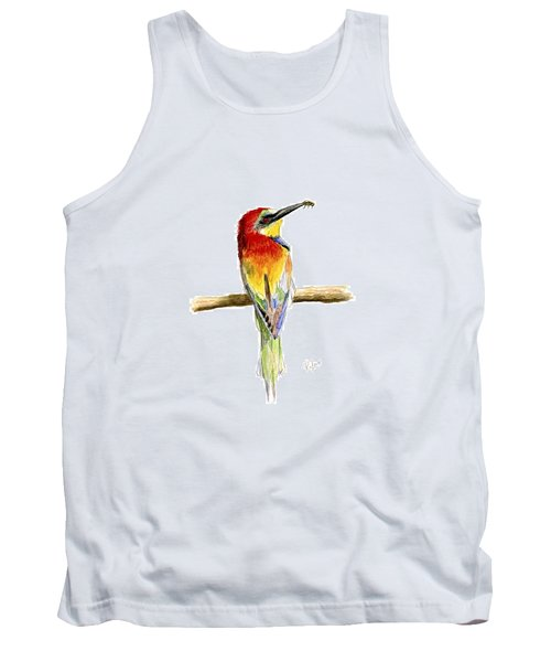 Gruccione  - Bee Eater - Merops Apiaster Tank Top