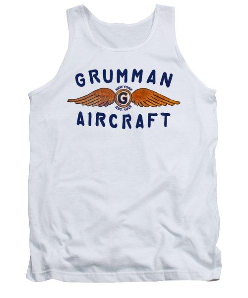 Grumman Wings Blue Tank Top