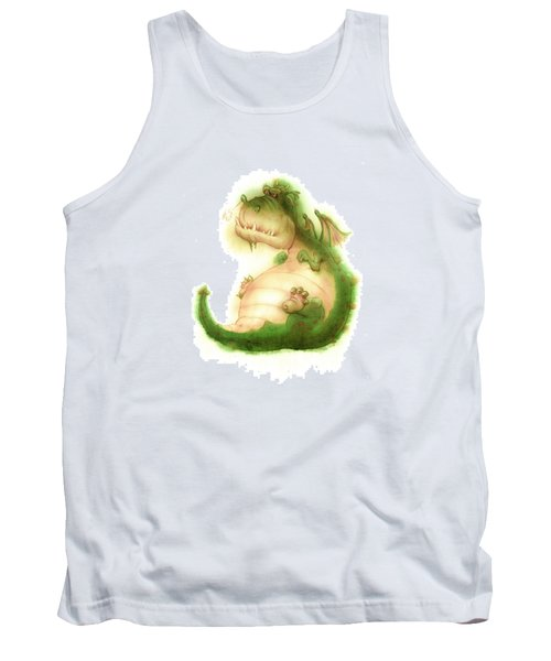 Grumpy Dragon Tank Top
