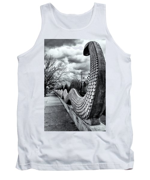 Guading The Castle Tank Top