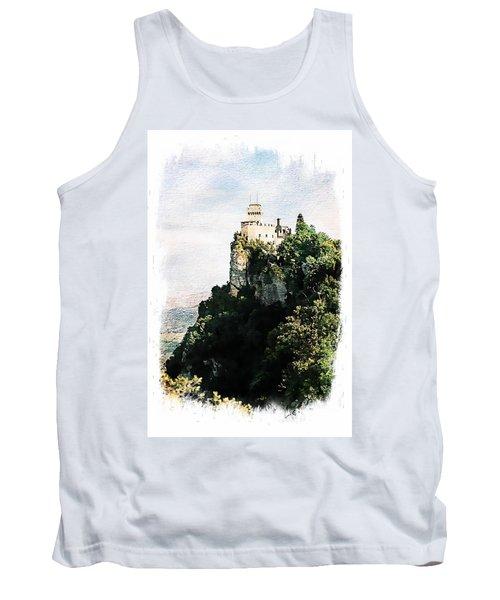 Guaita Castle Fortress Tank Top by Joseph Hendrix