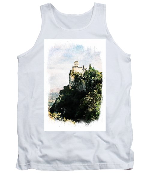 Guaita Castle Fortress Tank Top