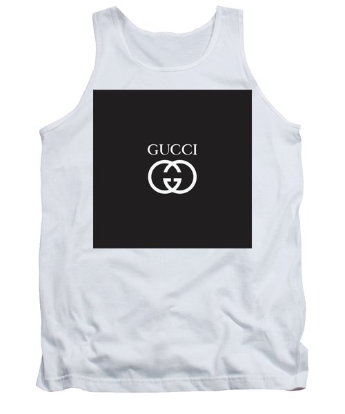 Gucci - Black And White - Lifestyle And Fashion Tank Top