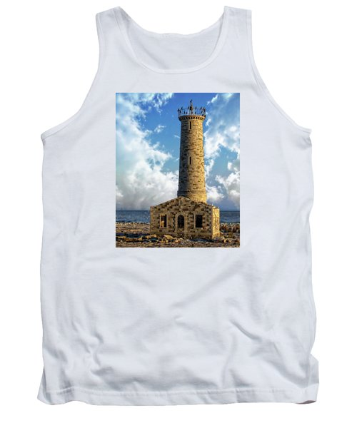 Gull Island Lighthouse Tank Top