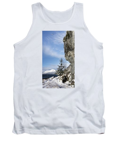 Tank Top featuring the photograph Gulls Of Winter by Michele Cornelius