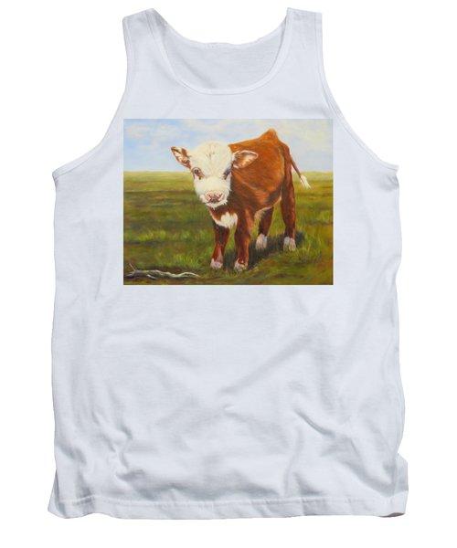 Gus, Cow Tank Top
