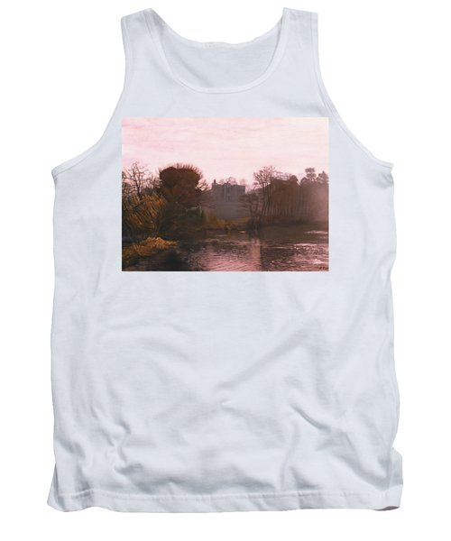 Guys Cliffe House Warwick England Tank Top