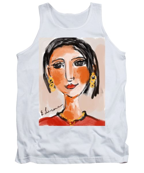 Gypsy Lady Tank Top by Elaine Lanoue