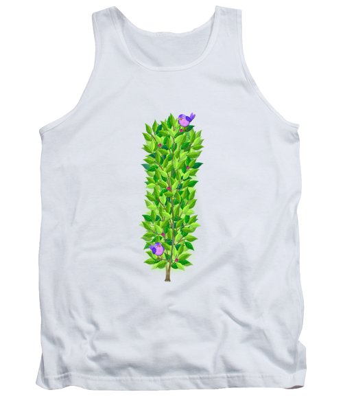 H Is For Hedgehog And Hammock Tank Top