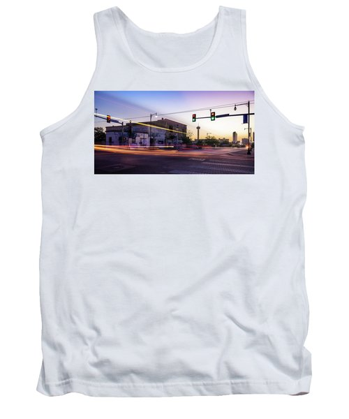 Hackberry And Commerce Tank Top by Micah Goff