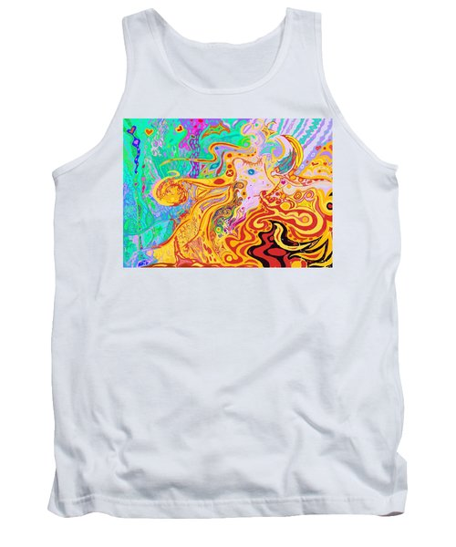Hair Of The Divine Universe Tank Top