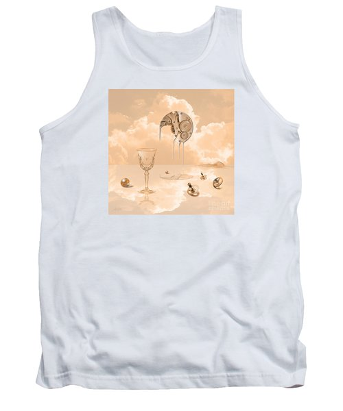 Tank Top featuring the digital art Beyond Time by Alexa Szlavics