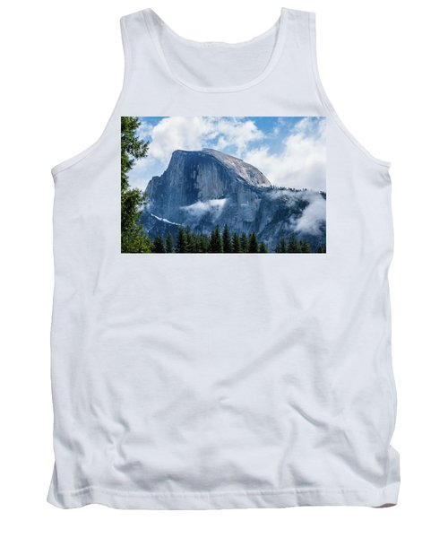 Half Dome In The Clouds Tank Top