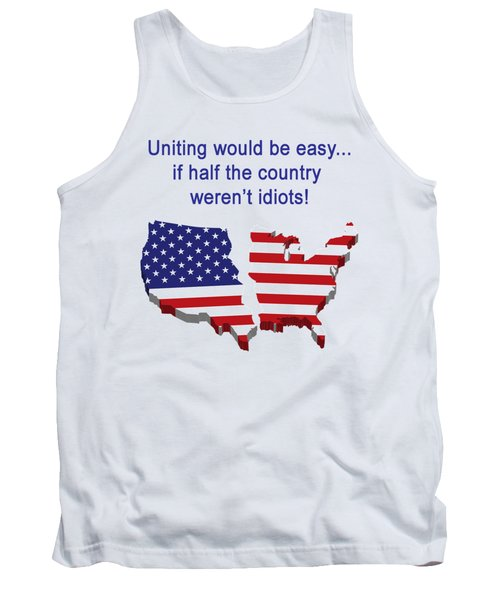 Half The Country Tank Top