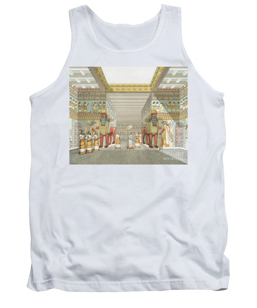 Hall In Assyrian Palace Tank Top