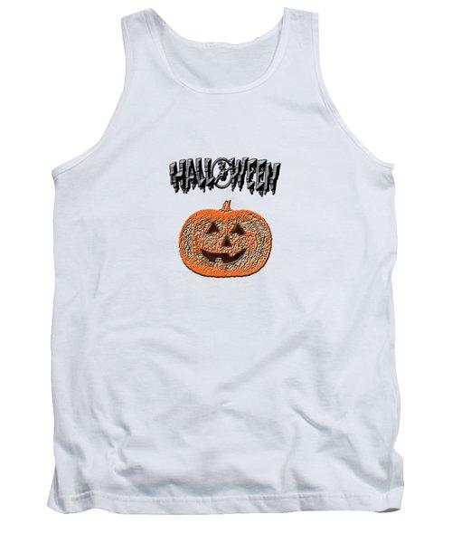 Halloween Pumpkin Tank Top