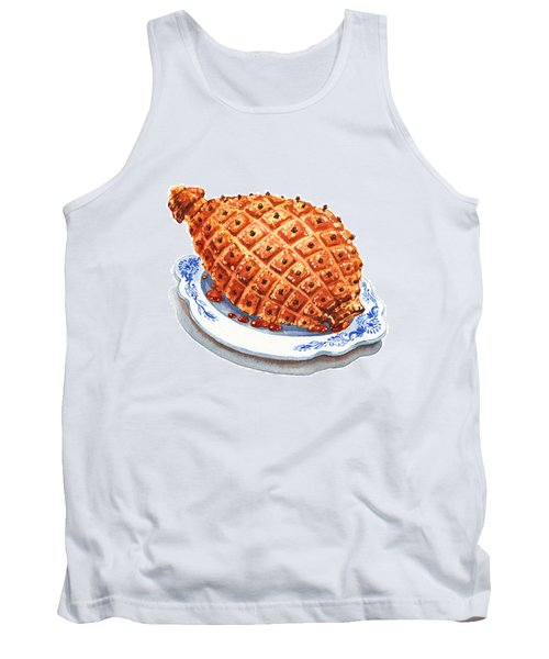 Ham On The Plate Tank Top
