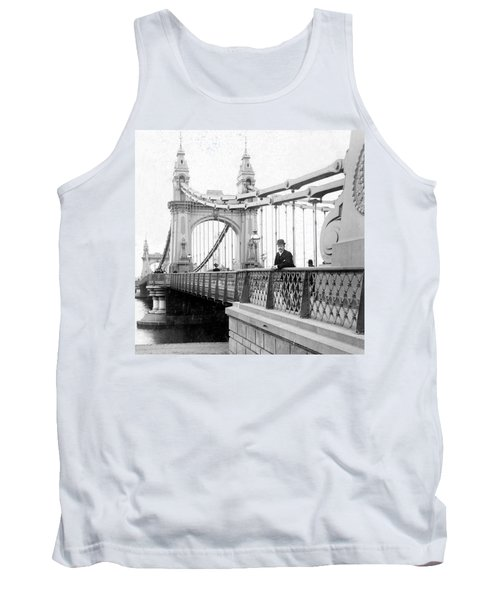 Hammersmith Bridge In London - England - C 1896 Tank Top by International  Images