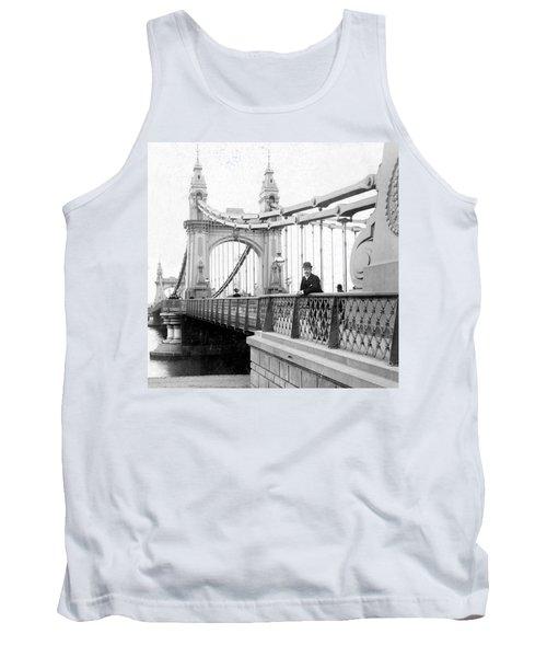 Hammersmith Bridge In London - England - C 1896 Tank Top