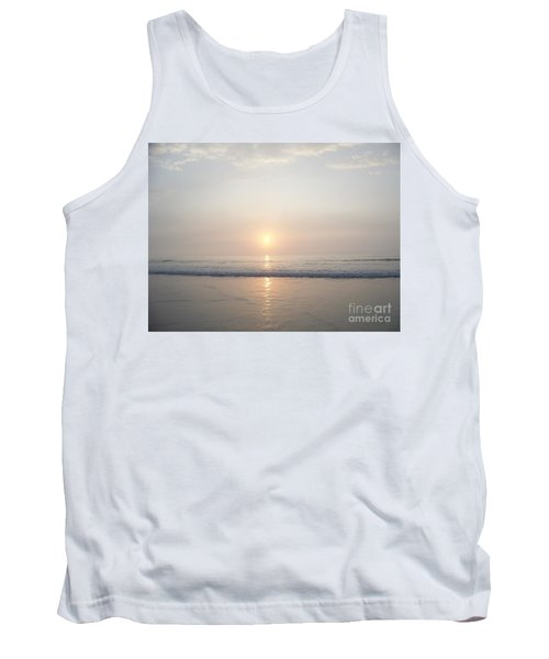 Tank Top featuring the photograph Hampton Beach Sunrise by Eunice Miller