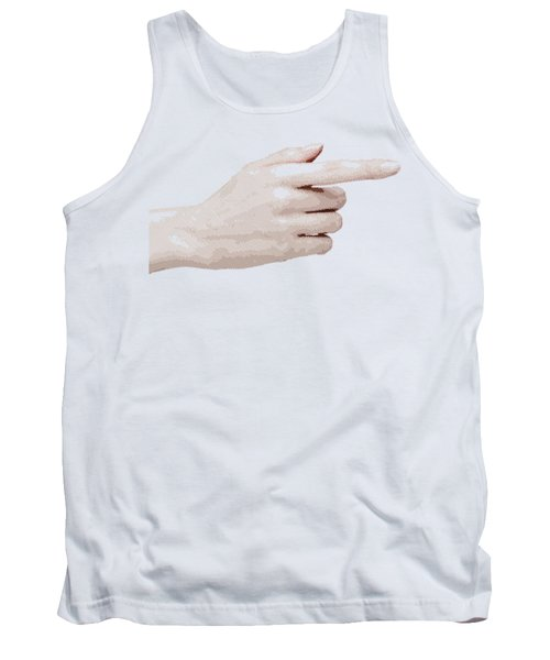 Hand - Parallel Hatching Tank Top