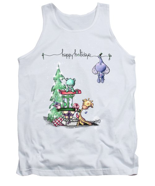 Hanging Around For The Holidays Tank Top by Lizzy Love