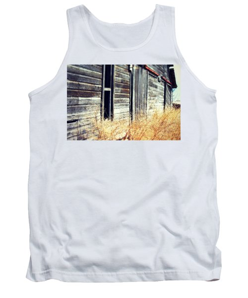 Tank Top featuring the photograph Hanging By A Bolt by Julie Hamilton