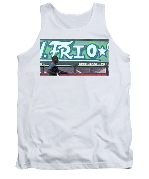 Tank Top featuring the photograph Hanging Out On Frio Street by Joe Jake Pratt