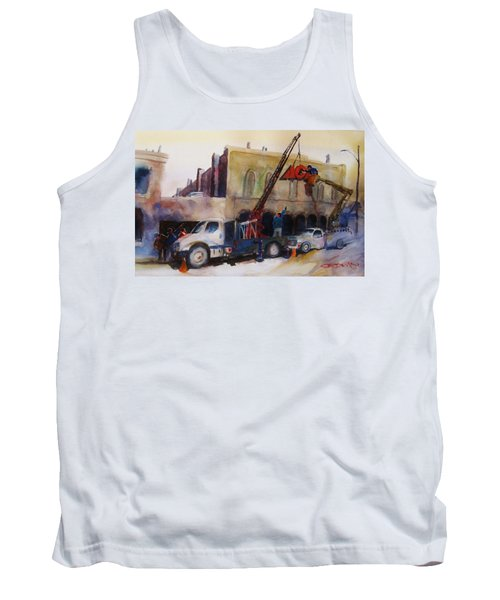 Hanging Red Ace #2 Tank Top