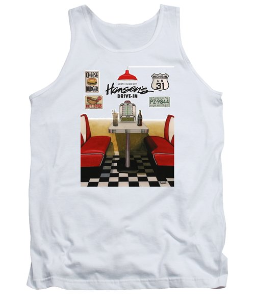 Hansen's Drive-in Tank Top by Ferrel Cordle