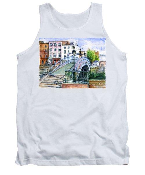 Ha'penny Bridge Dublin Tank Top