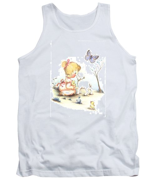 Happiness Tank Top by Sorin Apostolescu