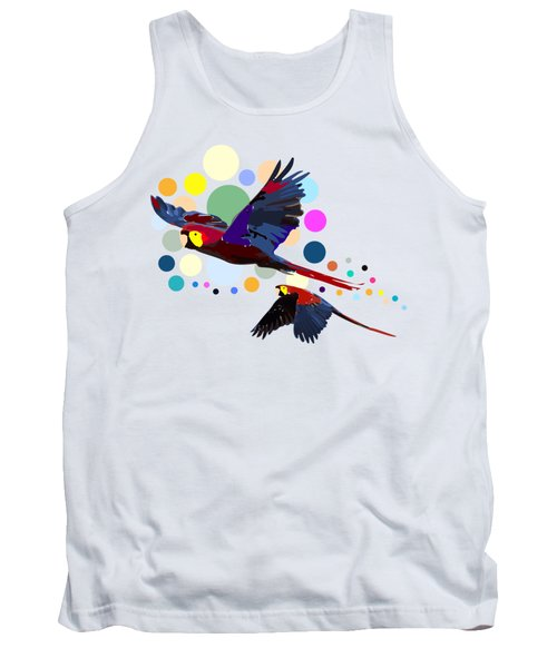 Happy Parrots Tank Top