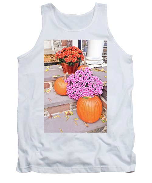 Tank Top featuring the photograph Happy Thanksgiving by Ann Murphy