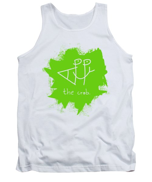 Happy The Crab - Green Tank Top