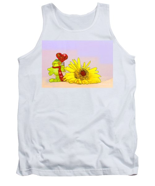Tank Top featuring the photograph Happy Valentine's Day by Teresa Zieba