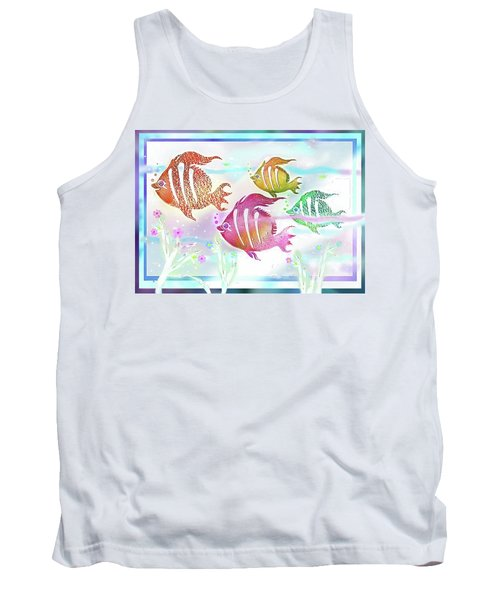 Happiness Is A Clean Ocean  Tank Top