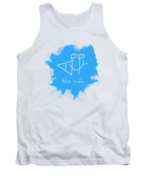 Happy The Crab - Blue Tank Top