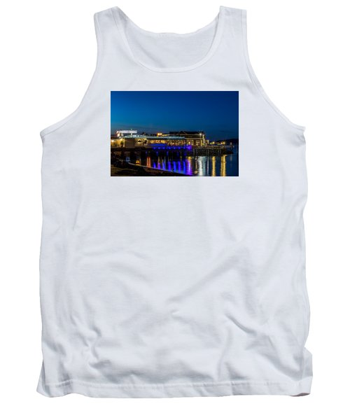 Harbor Lights During Blue Hour Tank Top