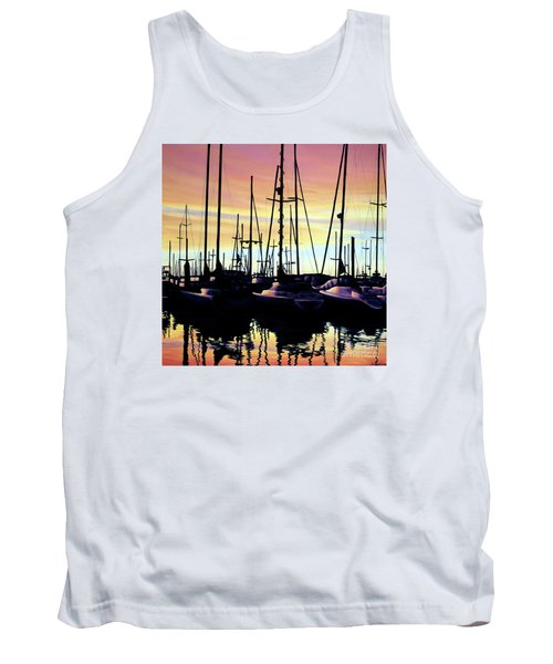 Harbor Sunset Tank Top