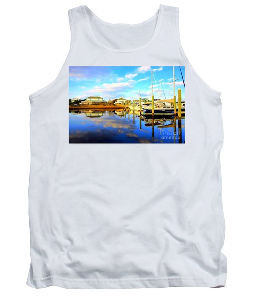 Harbour Reflections Tank Top by Shelia Kempf