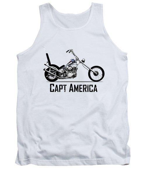 Harley Captain America Tank Top