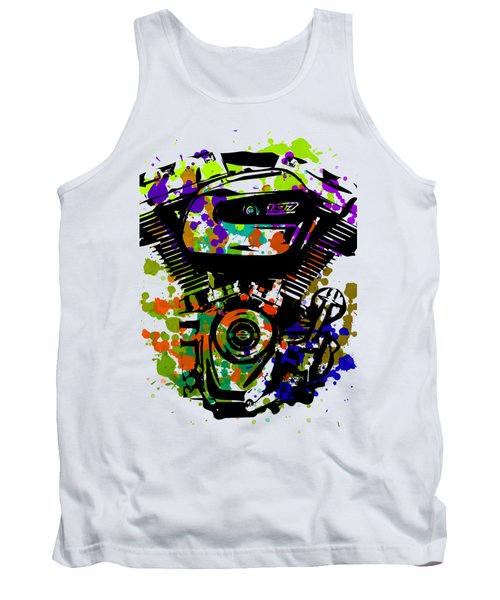 Harley Davidson Pop Art 1 Tank Top
