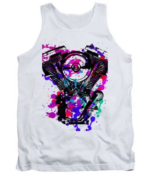 Harley Davidson Pop Art 2 Tank Top