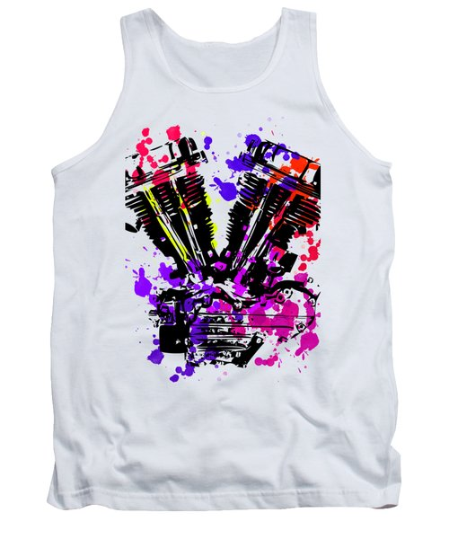 Harley Davidson Pop Art 3 Tank Top